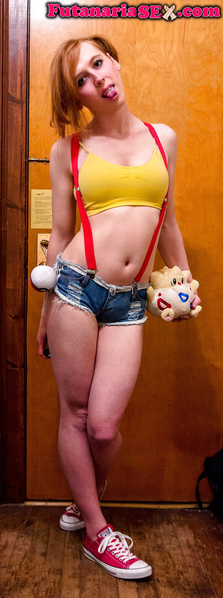 Shiri trap misty pokemon cosplay