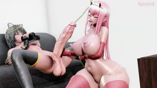 Busty fucked in 3D porn video