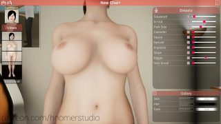 Set up your futanari girl in virtual addictive games
